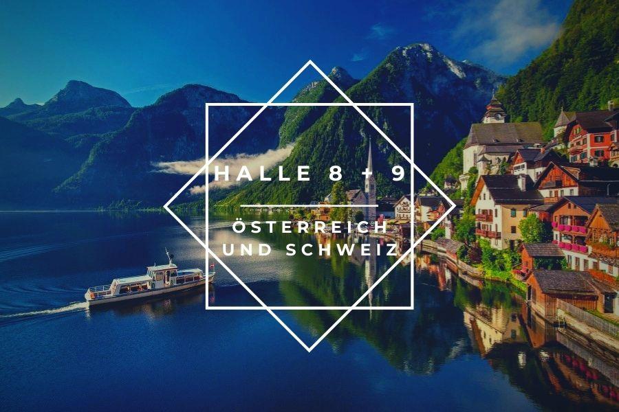 Oesterreich und Schweiz Halle 8 - 9